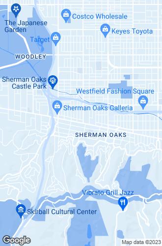 Map of Sherman Oaks