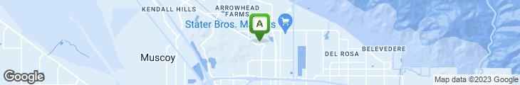 Map of Castaway Restaurant