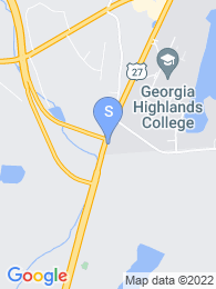 Georgia Highlands College map