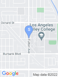 Los Angeles Valley College map