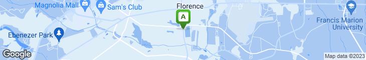 Map of Applebee's
