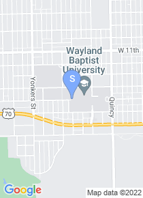 Wayland Baptist University map