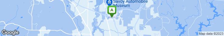 Map of The HoneyBaked Ham Company