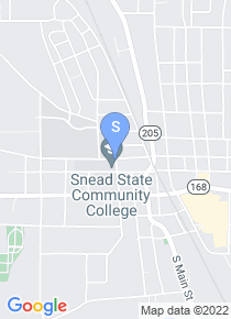 Snead State Community College map