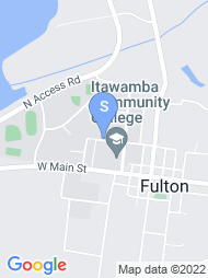 Itawamba Community College map
