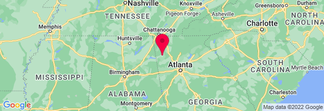 Map of Mount Berry, GA, US
