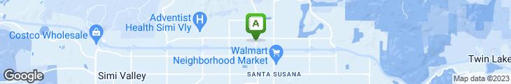 Map of Panda Express