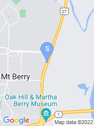 Berry College map