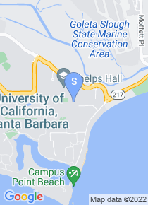 UC Santa Barbara map