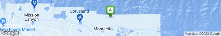 Map of Stonehouse @ San Ysidro Ranch