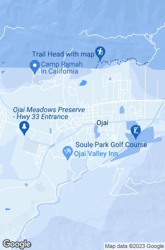 Map of Ojai