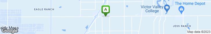 Map of Baker's Drive-thru