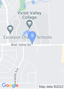 Victor Valley College map
