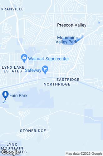 Map of Prescott Valley
