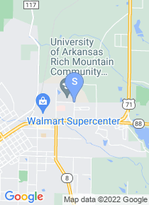 Rich Mountain Community College map