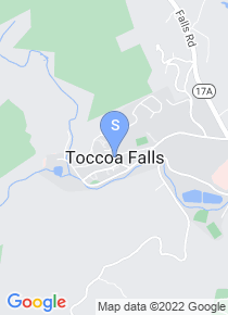 Toccoa Falls College map