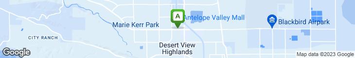 Map of Dippin' Dots