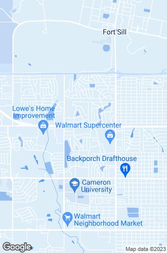 Map of Lawton