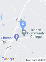 Bladen Community College map