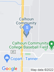 Calhoun Community College map