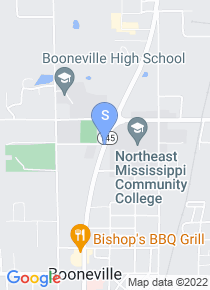 Northeast Mississippi Community College map