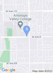 Antelope Valley College map