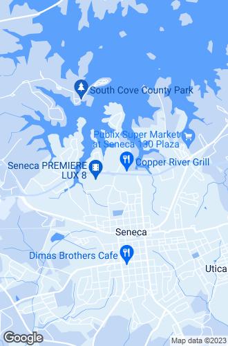Map of Seneca