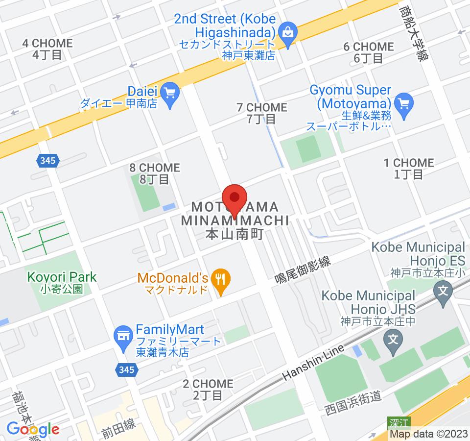 神戸市東灘区本山南町5-4-58