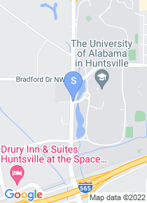 University of Alabama Huntsville map