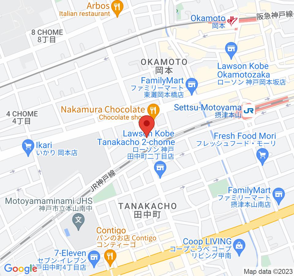 神戸市東灘区岡本2-5-6