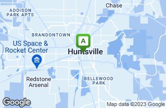 Map of Ruth's Chris Steak House - Huntsville