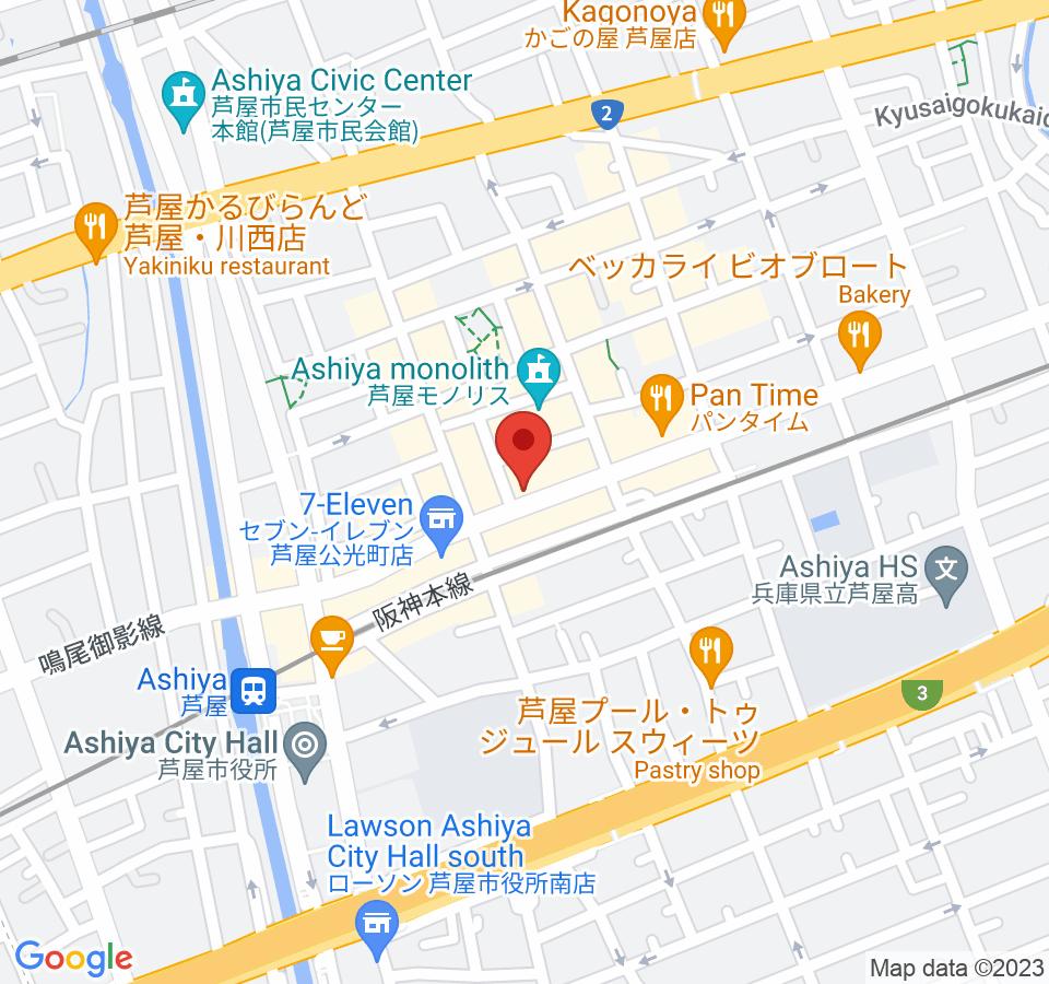 芦屋市大桝町6-8