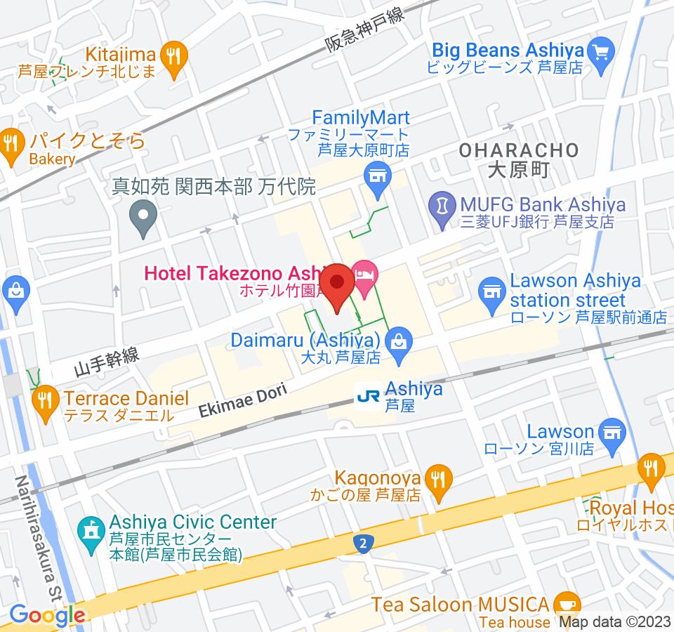 芦屋市船戸町4−1
