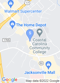 Coastal Carolina Community College map