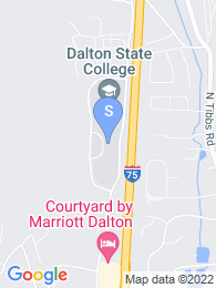 Dalton State College map