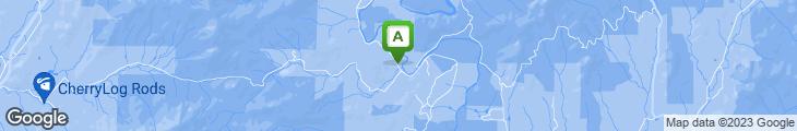 Map of Toccoa Riverside Restaurant