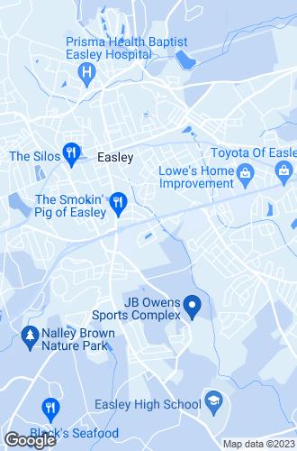 Map of Easley