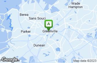 Map of Tsunami Greenville