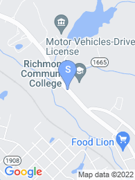 Richmond Community College map
