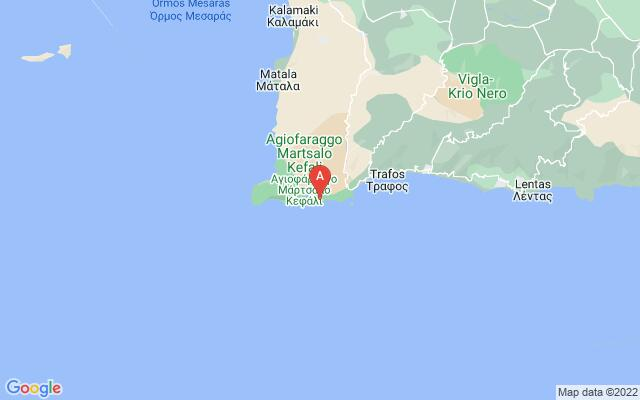 Google Map of AGIOFARAGO