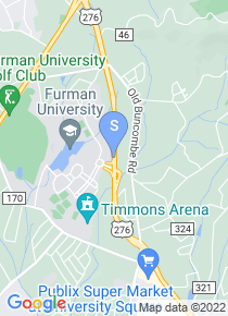 Furman University map