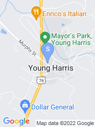 Young Harris College map