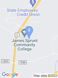 James Sprunt Community College map