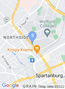 Wofford College map