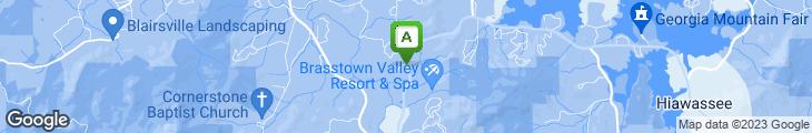Map of Brasstown Valley