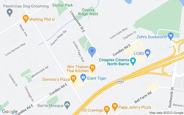 345 Livingstone St E, Barrie, ON L4M 7B5, Canada