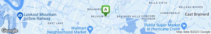 Map of Nagoya