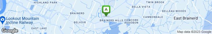 Map of Ankar's Hoagies