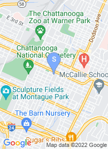 Tennessee Temple University map
