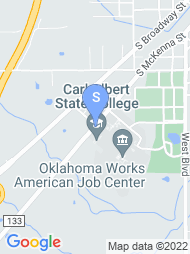 Carl Albert State College map